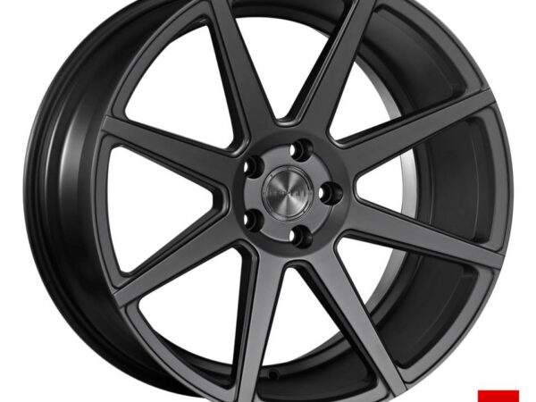 "20"" Staggered ISPIRI ISR8 Wheels - Matt Graphite - 5 / 6 / 7 Series / E9x M3"