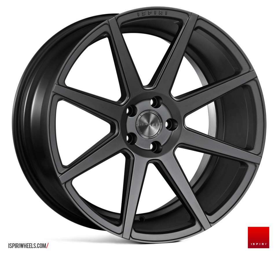 19 Staggered Ispiri Isr8 Wheels Satin Graphite 5 6 7 Series E9x M3 Cmwheels