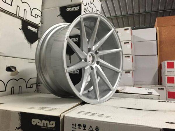 "19"" Staggered OEMS CVT Directional Wheels - Silver - E90 / E91 / E92 / E93 / F10"