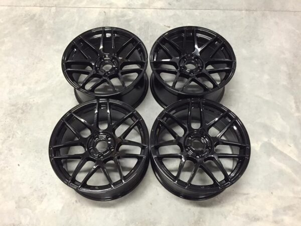 "19"" Staggered CS Style Wheels - Gloss Black - E9x / F10 / E9x M3 / E46 M3"