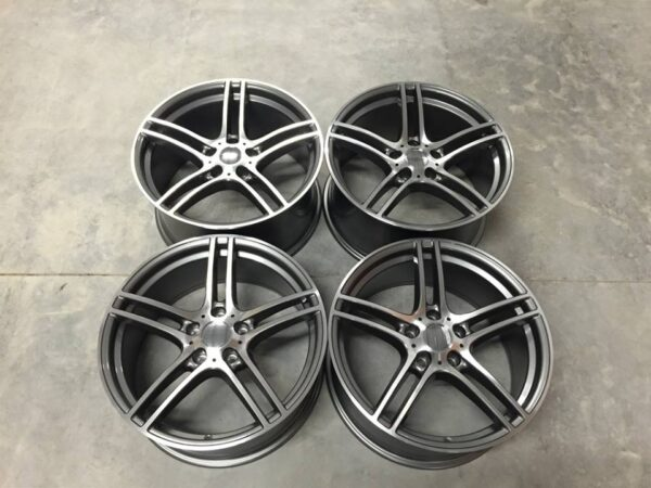 "19"" Staggered 313 Style Wheels - Gun Metal / Machined - E90 / E91 / E92 / F10 / E46 / Z4 / 1 Series"