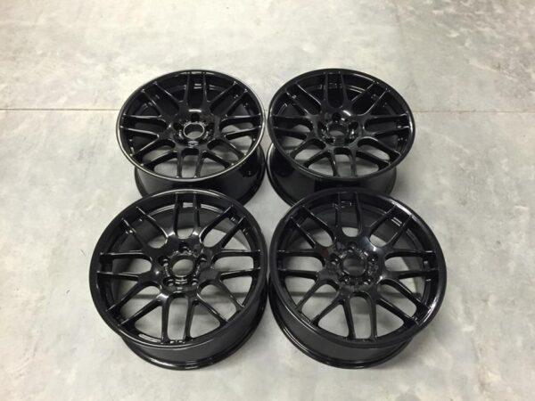 "19"" Staggered CSL Style Wheels - Gloss Black - E90 / E91 / E92 / E93 / E46 M3"