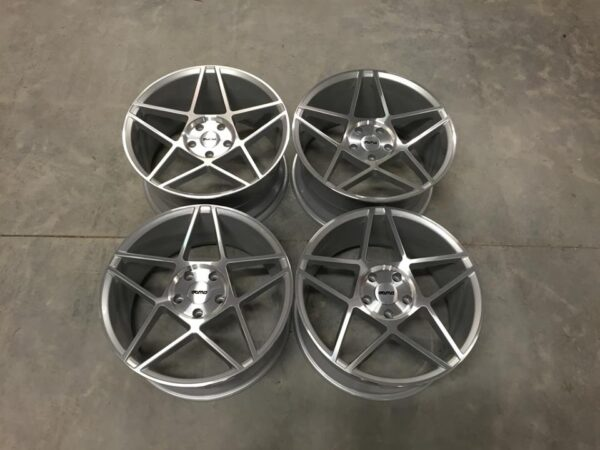 "19"" OEMS IFG11 Wheels - Silver / Machined Face - VW / Audi / Mercedes - 5x112"