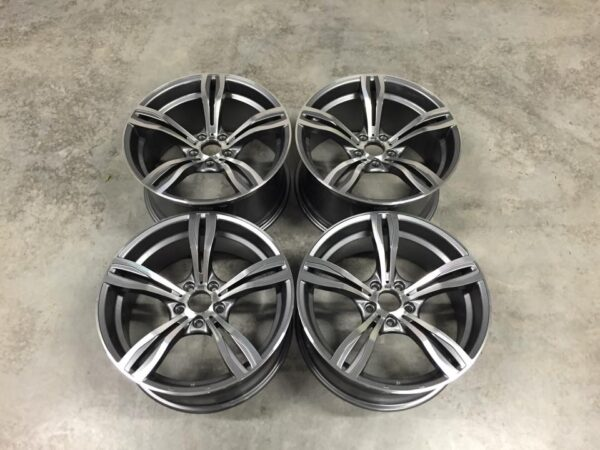 "19"" Staggered Avant Garde M355 Wheels - Gun Metal / Machined - E90 / E91 / E92 / E93 / F10"