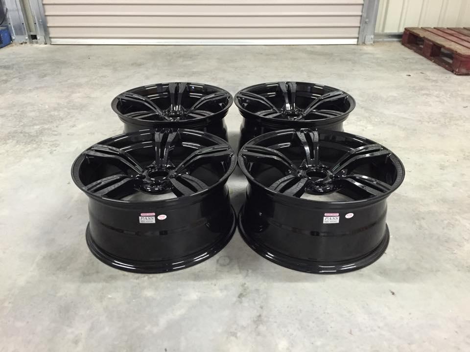 "19"" Staggered Avant Garde M355 Wheels - Gloss Black - E90 / E91 / E92 / E93 / F10"