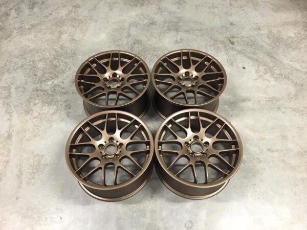 "19"" Staggered CSL Style Wheels - Satin Bronze - E90 / E91 / E92 / E93 / E46 M3"