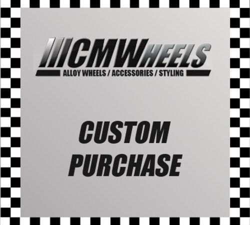Custom Purchase - Spacer Package