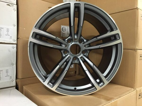 "19"" Staggered M3/M4 Style Wheels - Gun Metal / Machined - E90 / E91 / E92 / F10 / E46 / Z4 / F30"
