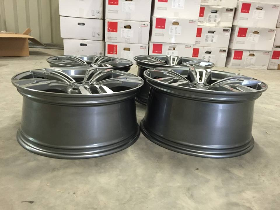 "20"" Staggered M433 M6 Gran Coupe Style Wheels - Gun Metal Machined - E90 / E91 / E92 / E93 / F10"
