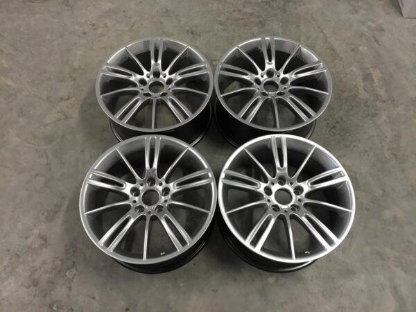 """17"""" MV3 Style Wheels - Hyper Silver - E9x / E36 / E46 / Z4"""