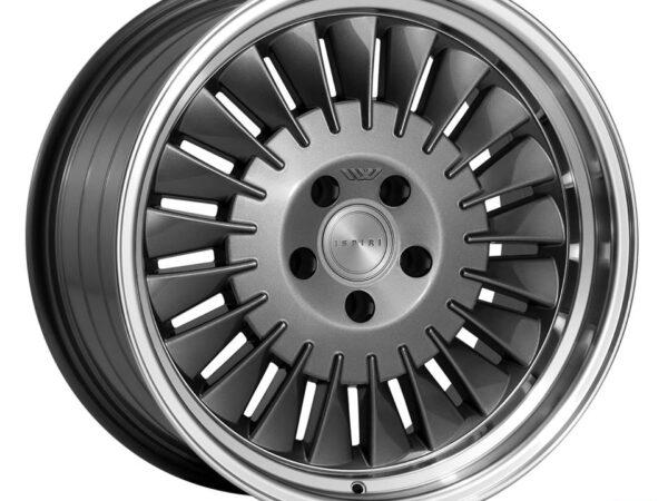 "18"" ISPIRI CSR1D Wheels - Carbon Graphite - VW / Audi - 5x100"