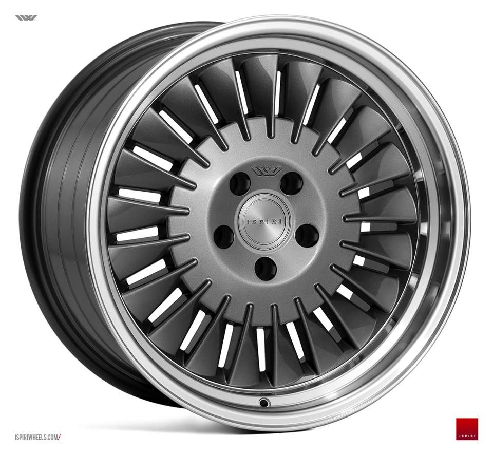 "18"" ISPIRI CSR1D Wheels - Carbon Graphite - VW / Audi - 5x100"