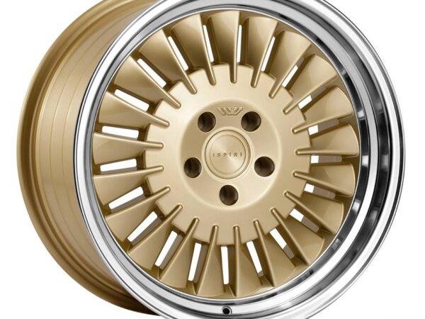 "18"" ISPIRI CSR1D Wheels - Vintage Gold - VW / Audi - 5x100"