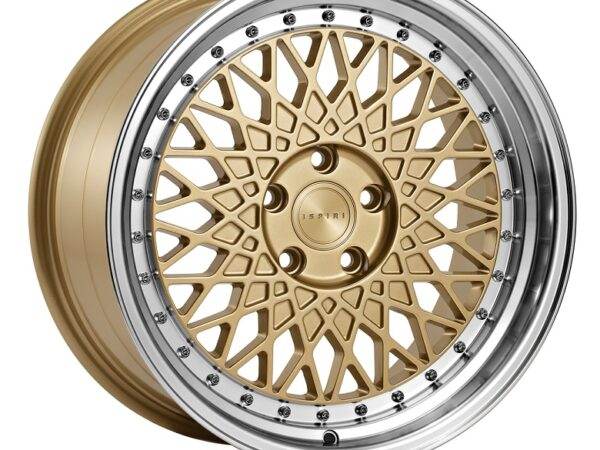"18"" Staggered ISPIRI CSR3 Wheels - Vintage Gold - E9x / E36 / E46 / F30"