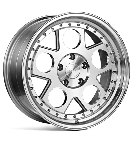 "19"" ISPIRI CSR4 Wheels - Silver Machined / Polished - VW / Audi / Mercedes - 5x112"