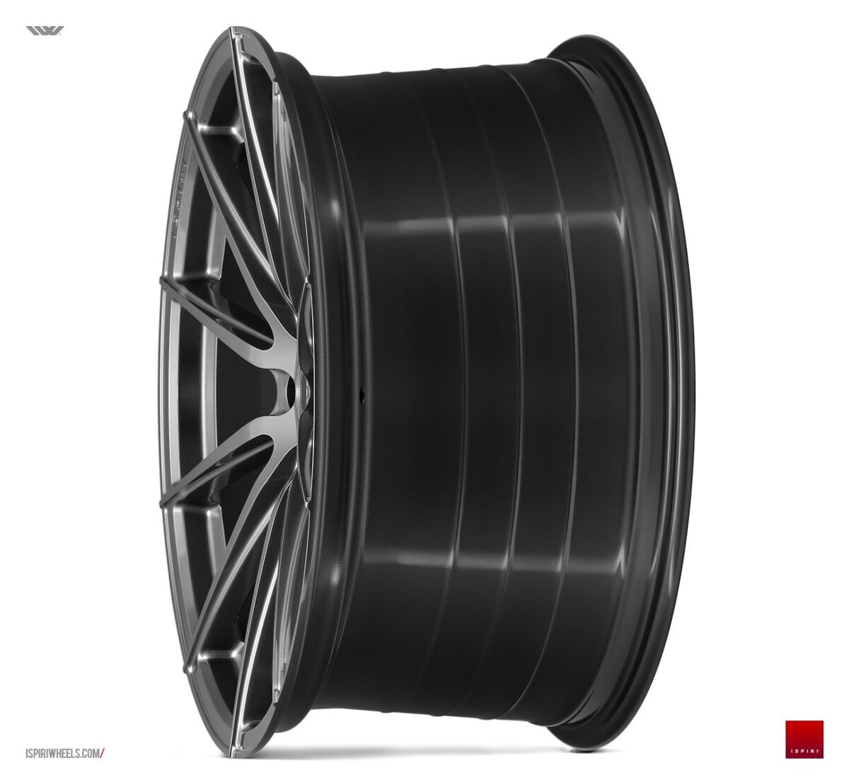 """19"""" Staggered ISPIRI FFR1 Wheels - Carbon Graphite - E90 / E91 / E92 / E93 / F10 / F30"""