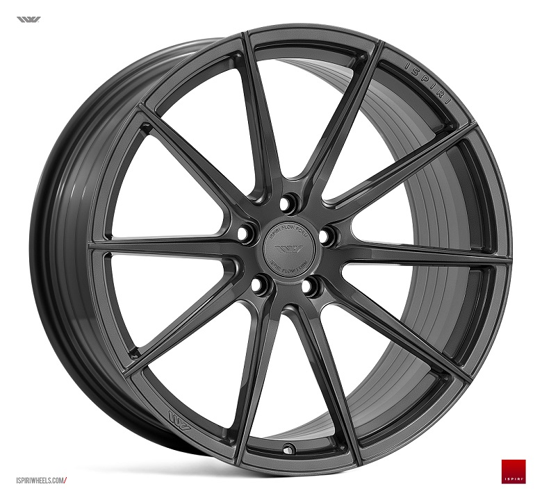 "19"" Staggered ISPIRI FFR1 Wheels - Carbon Graphite - E90 / E91 / E92 / E93 / F10 / F30"