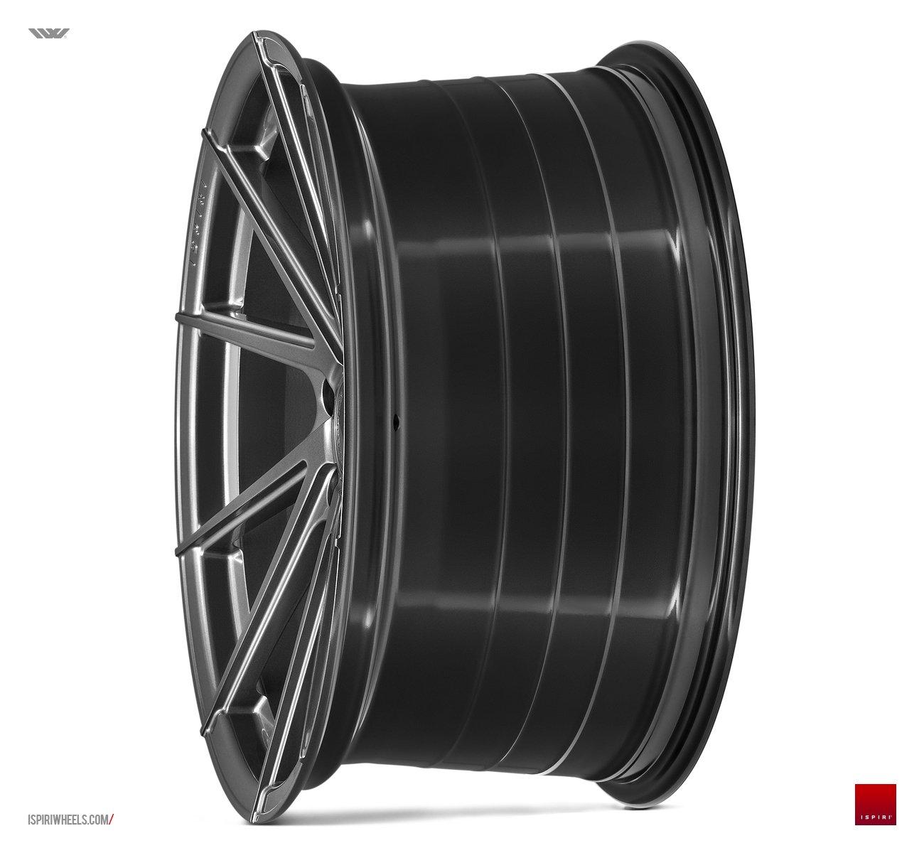 "20"" ISPIRI FFR1D Wheels - Carbon Graphite - VW / Audi / Mercedes - 5x112"