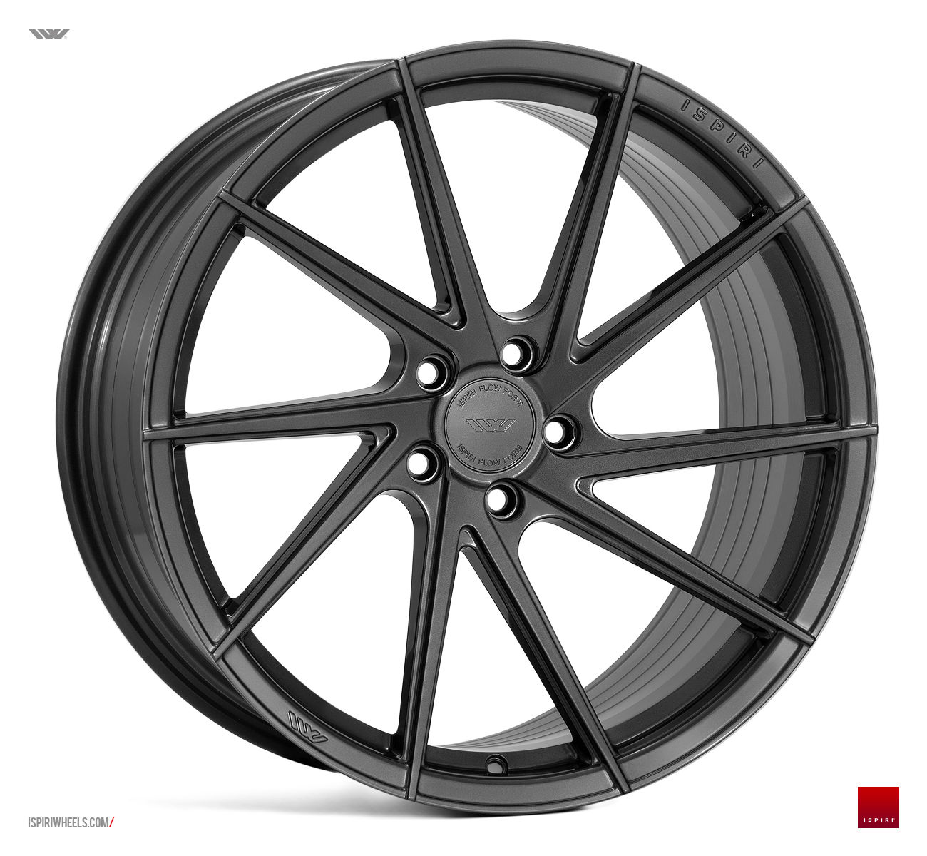 "20"" ISPIRI FFR1D Wheels - Carbon Graphite - VW / Audi / Mercedes - 5x112"