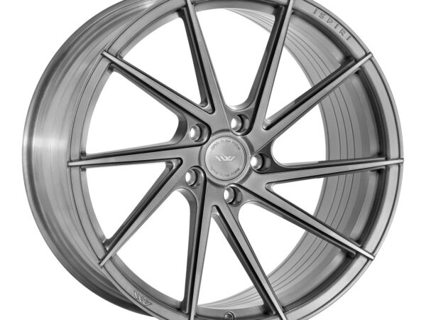 "20"" ISPIRI FFR1D Wheels - Full Brushed Carbon Titanium - VW / Audi / Mercedes - 5x112"