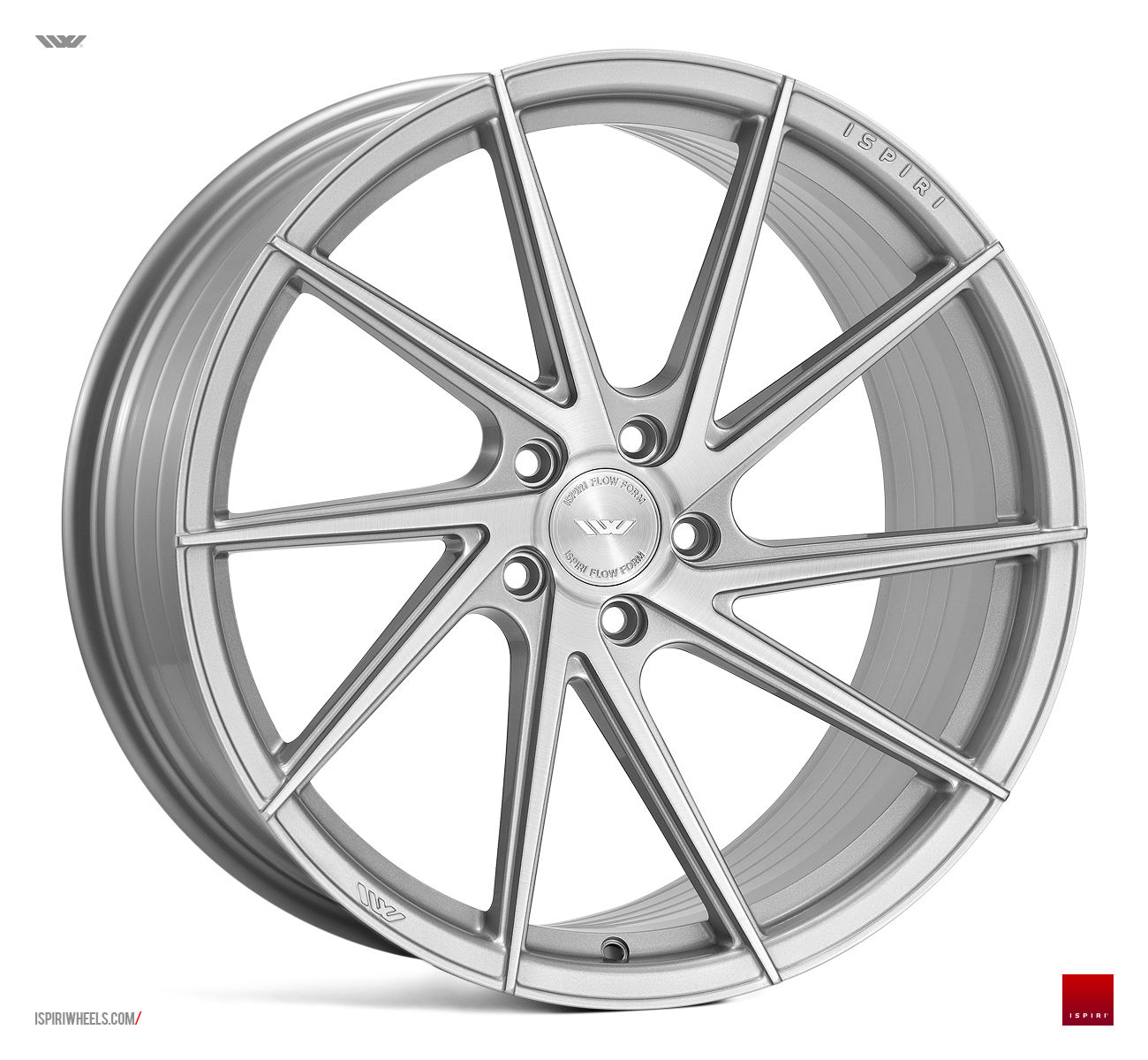 "20"" Staggered ISPIRI FFR1D Wheels - Silver / Brushed - 5 / 6 / 7 Series / E9x M3"