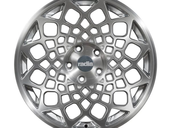 "19"" Radi8 R8-B12 Wheels - Matt Silver Machined - VW / Audi / Mercedes - 5x112"