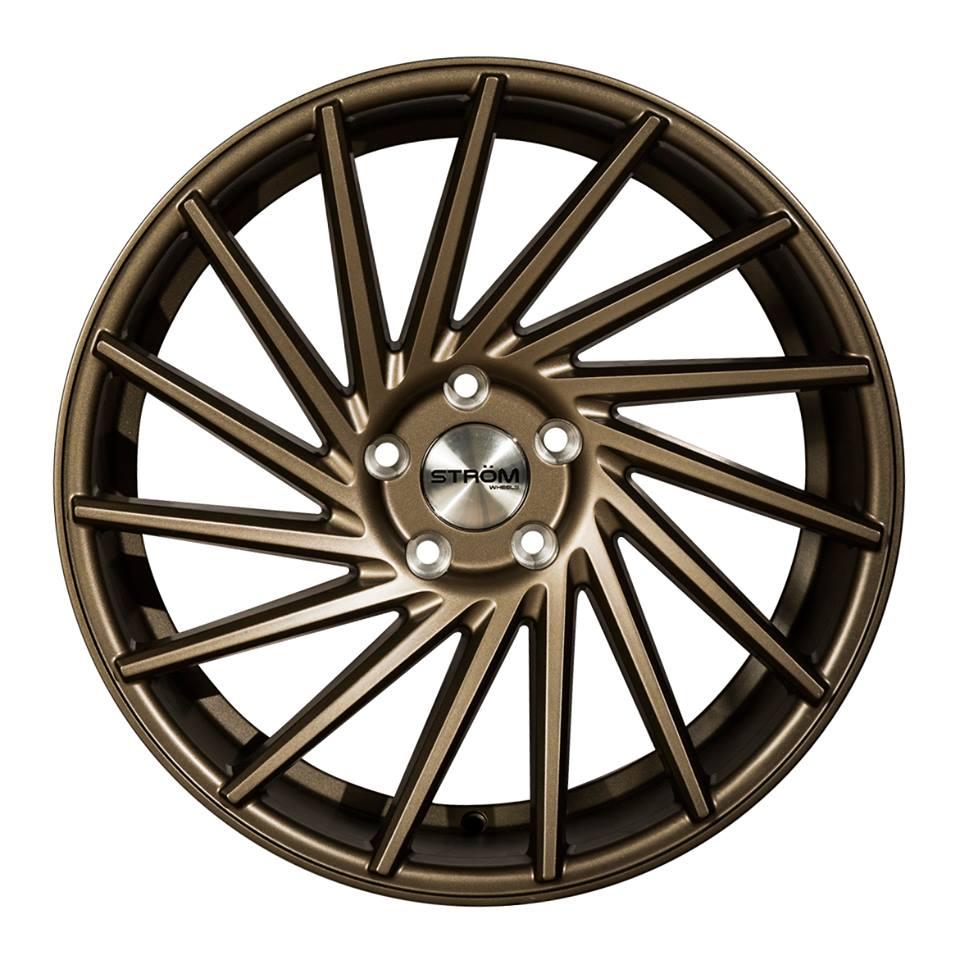 "19"" Strom DS15 Wheels - Satin Bronze - VW / Audi / Mercedes - 5x112"