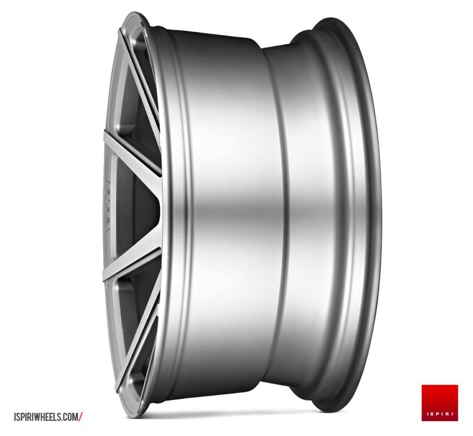 "19"" Staggered ISPIRI ISR8 Wheels - Satin Silver - VW / Audi / Mercedes - 5x112"