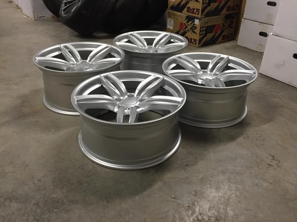 """19"""" Staggered 351M F10 M Sport Style Wheels - Hyper Silver - E90 / E91 / E92 / E93 / F10 / F30"""