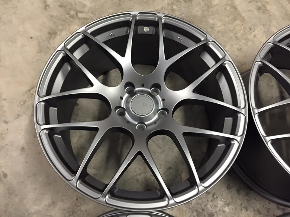 """19"""" Staggered Fox MS007 Wheels - Matt Graphite - E90 / E91 / E92 / E93 / F10 / F30"""