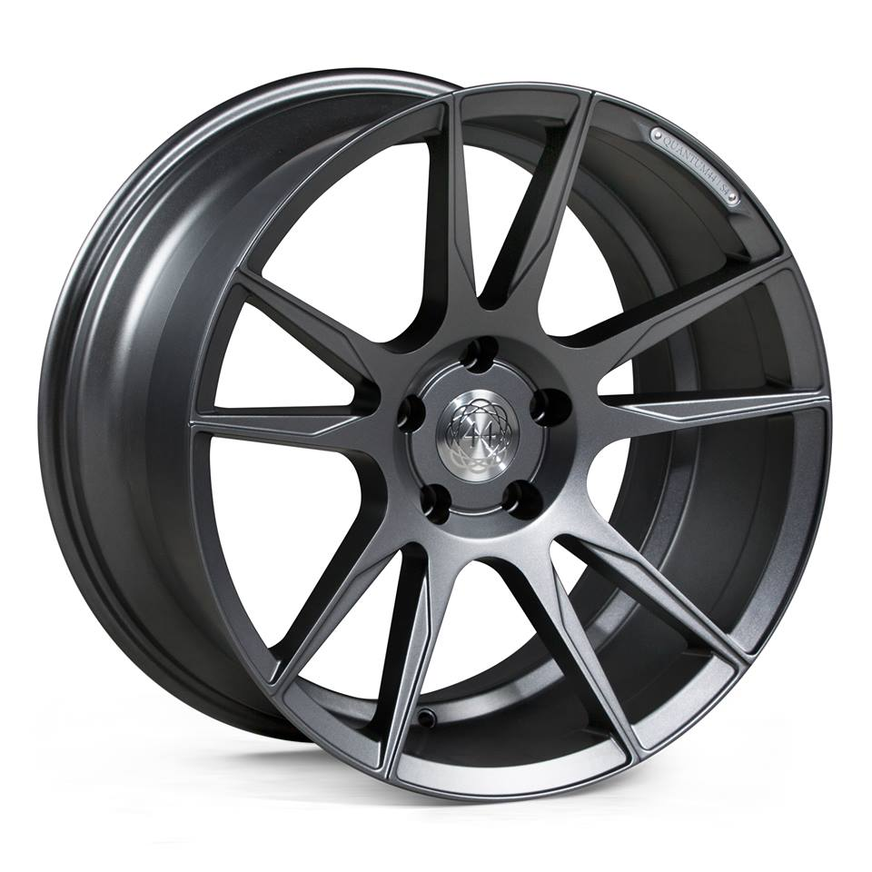 "19"" Staggered Quantum44 S4 Wheels - Gun Metal - E90 / E91 / E92 / E93 / F10"