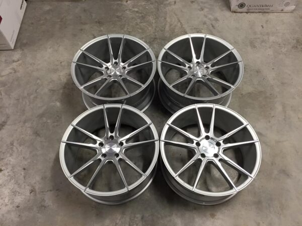 "19"" Staggered Veemann V-FS24 Wheels - Silver / Machined Face - E90 / E91 / E92 / E93 / F10 / F11"