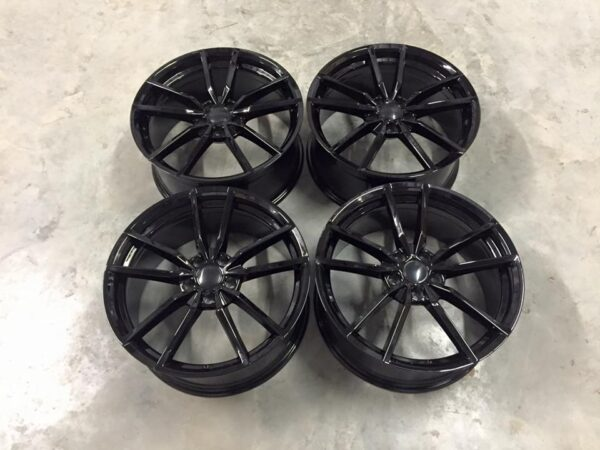 "19"" VW Golf R Pretoria Style Wheels - Gloss Black - VW / Audi - 5x112"