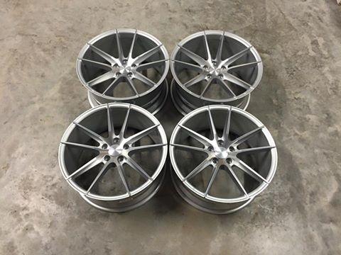 """19"""" Staggered Veemann V-FS25 Wheels - Silver / Machined Face - E90 / E91 / E92 / E93 / F10 / F11"""