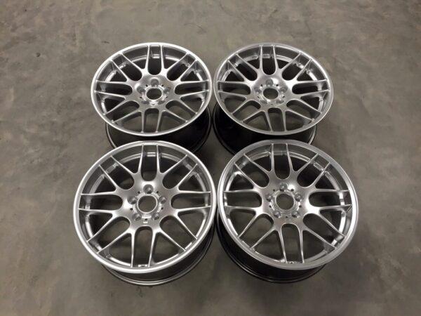 """19"""" Staggered CSL Style Wheels - Hyper Silver - E90 / E92 / F10 / F30 / E46 / Z4"""