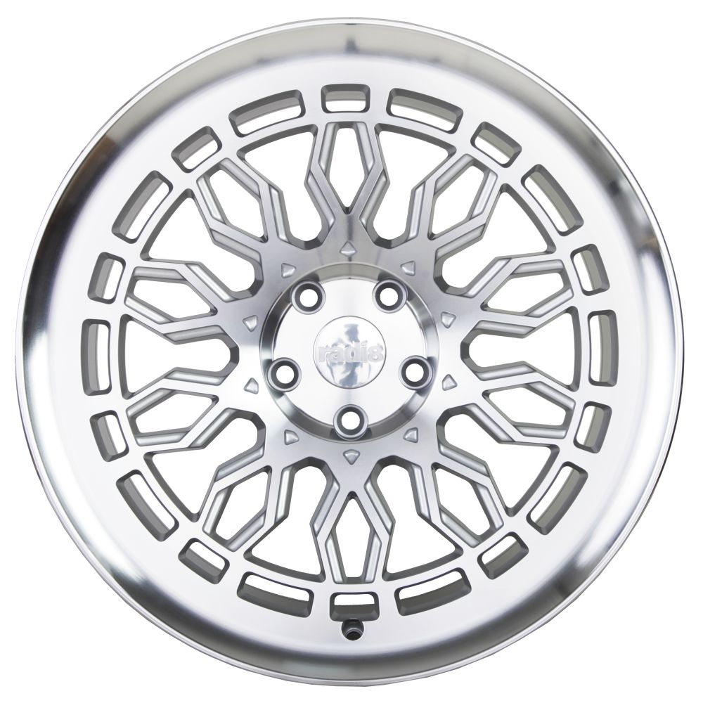 "19"" Radi8 R8-A10 Wheels - Matt Silver Machined - VW / Audi / Mercedes - 5x112"
