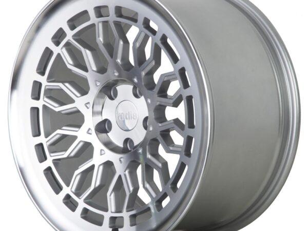 """18"""" Radi8 R8-A10 Wheels - Matt Silver Machined - VW / Audi / Mercedes - 5x112"""