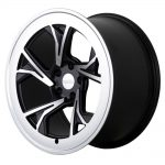 "19"" Radi8 R8-C5 Wheels - Gloss Black Machined - VW / Audi - 5x100"
