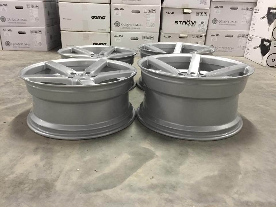 "18"" Staggered OEMS 115 Wheels - Silver / Machined Face  - E90 / E91 / E92 / E93 / F10 / F11"