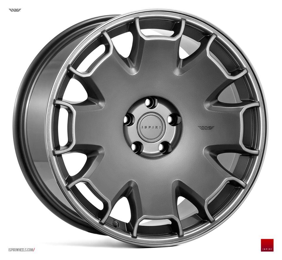 """18"""" Staggered ISPIRI CSR2 Wheels - Carbon Graphite - E90 / E91 / E92 / E93 / F30 / F31 / F10 / F11"""