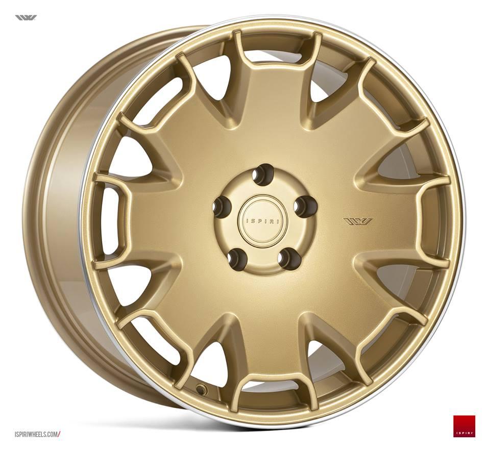 "18"" ISPIRI CSR2 Wheels - Vintage Gold - VW / Audi / Mercedes - 5x112"