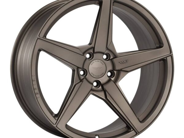"20"" ISPIRI FFR5 Wheels - Matt Carbon Bronze - VW / Audi / Mercedes - 5x112"
