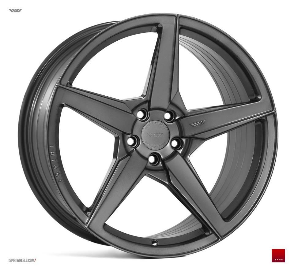"20"" ISPIRI FFR5 Wheels - Carbon Graphite - VW / Audi / Mercedes - 5x112"