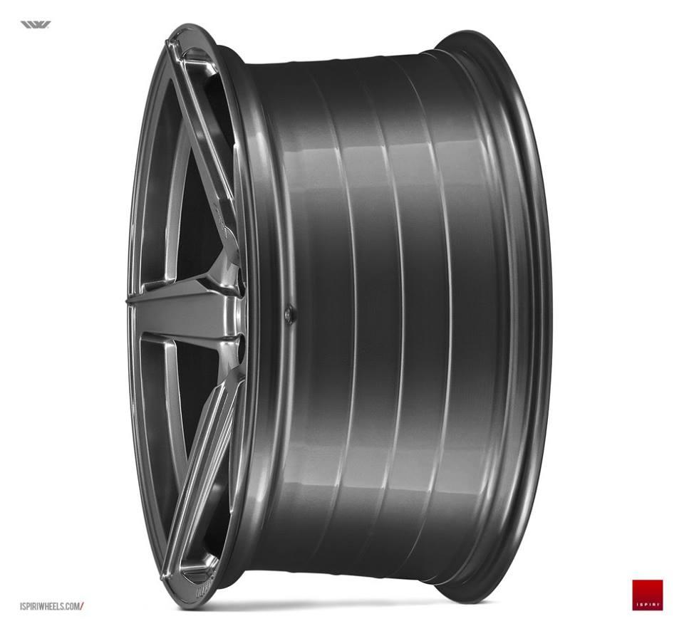"20"" ISPIRI FFR5 Wheels - Carbon Graphite - E9x / F30 / F10 / F11 / F32"