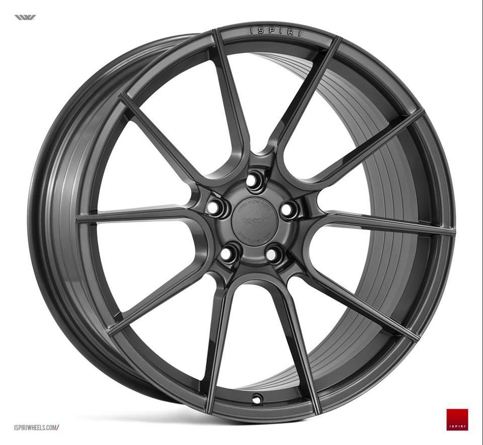 "19"" ISPIRI FFR6 Wheels - Carbon Graphite - VW / Audi / Mercedes - 5x112"