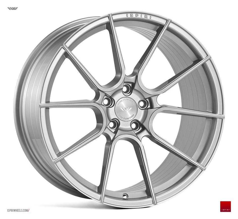 """19"""" ISPIRI FFR6 Wheels - Silver Brushed - VW / Audi / Mercedes - 5x112"""