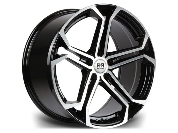 "20"" RIVIERA ATLAS Wheels - Black Machined - E9x / F10 / F11 / F30 / F32"