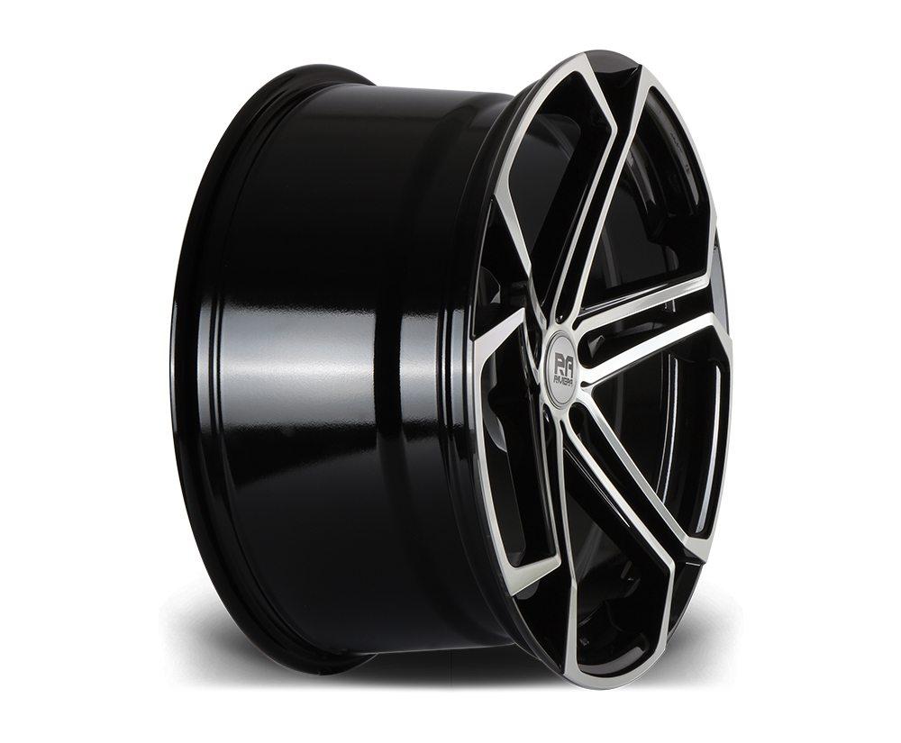 """20"""" RIVIERA ATLAS Wheels - Black Machined - E9x / F10 / F11 / F30 / F32"""