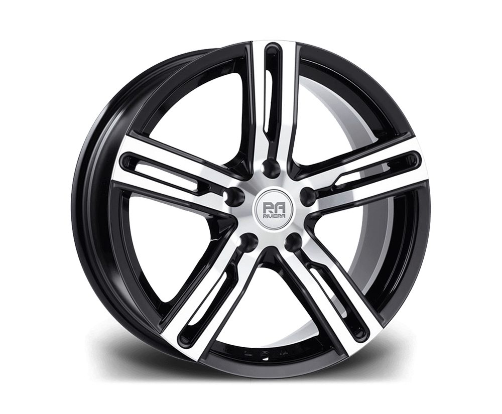 "18"" RIVIERA BLADE Wheels - Black Polished - F30 / F31 / F32 / F33"