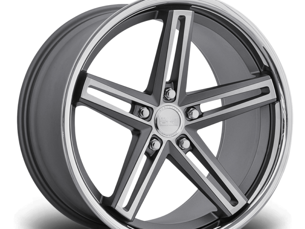 "20"" CONCEPT ONE CS55 Wheels - Gunmetal Polished Lip - VW / Audi / Mercedes - 5x112"